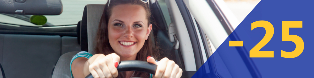 Car Hire for young drivers between 21 & 24 years old