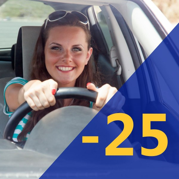 Car Hire for young drivers between 19 & 24 years of age