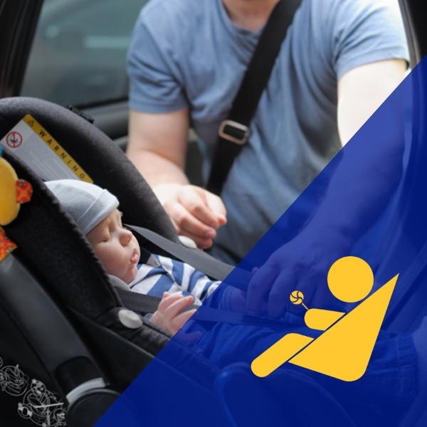 Biluthyrning med bilbarnstolar