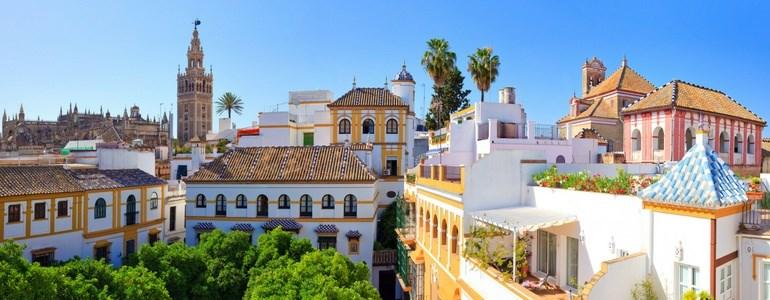 Ruta en coche de Málaga a Sevilla y Faro