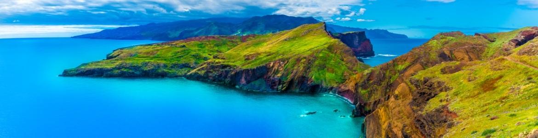 Ruta coche alquiler acantilado Cabo Girao Madeira
