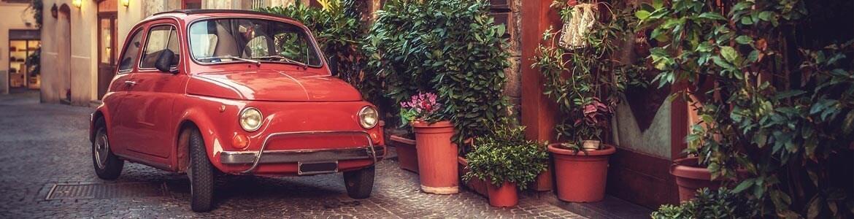 Alquiler coche italia conducir