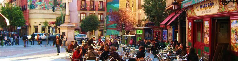 La Latina, Barrios de Madrid, Rutas en coche