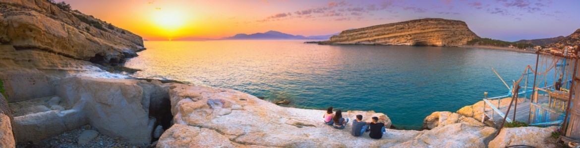 car hire Crete Heraklion beaches