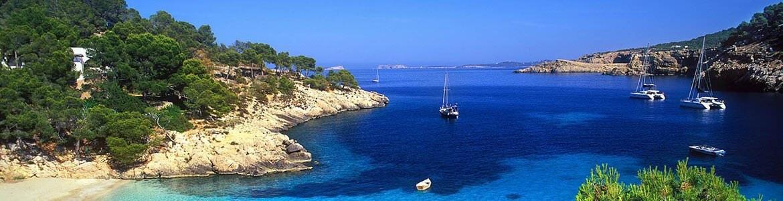 Alquiler coches islas baleares Ibiza, Menorca, Mallorca
