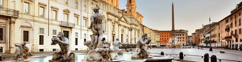 Paseo por Roma, Alquiler coches