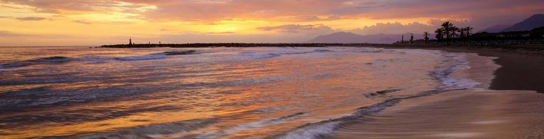 Alquiler minibus playa calopino malaga