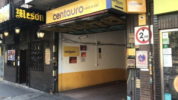 Parking Centauro madrid atocha