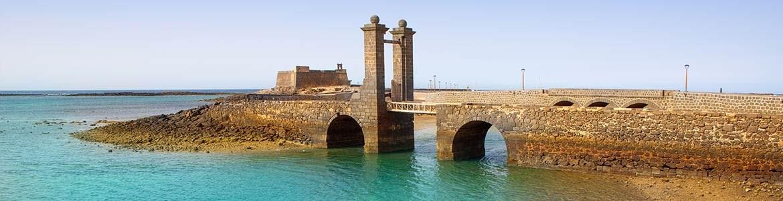 Festung San Gabriel Autovermietung Lanzarote