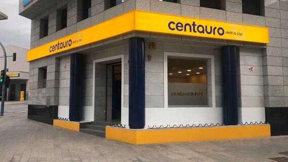 Oficina Centauro Rent a Car Alicante estación de AVE