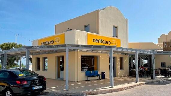 aluguer de carros em Santorini
