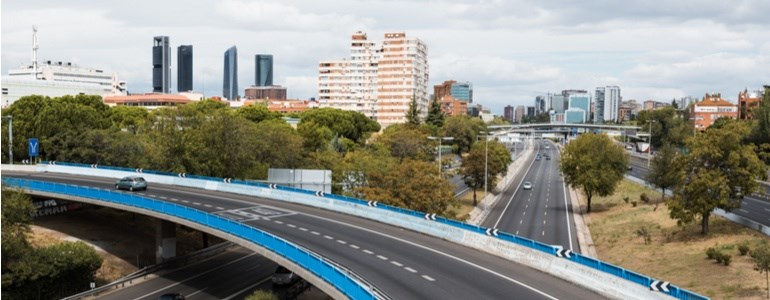 Madrid driving anti-pollution plan