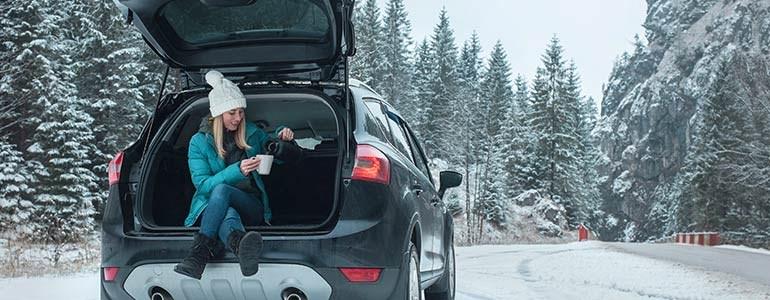 Cómo conducir en invierno tu coche de alquiler