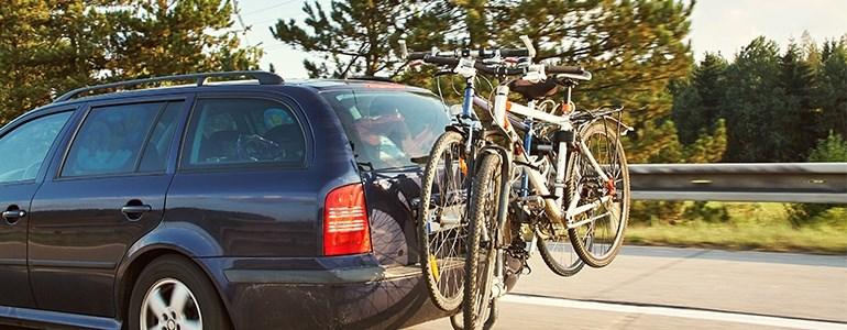Soporte de bicicletas para el coche