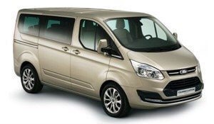 8 or 9 seater minibus hire at Madrid Chamartin