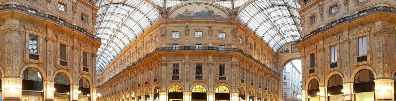 Galeria Victor Emmanuelle II Alquiler coche Milán