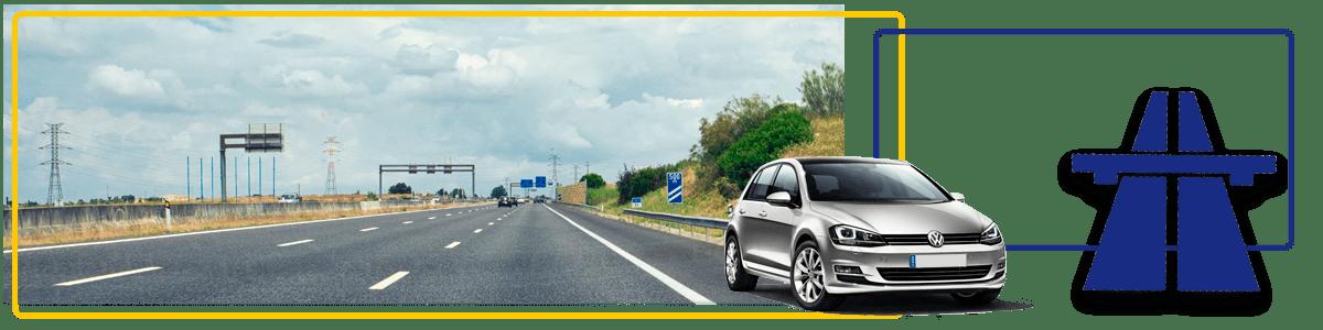 Location de voiture avec assurance transfrontalière