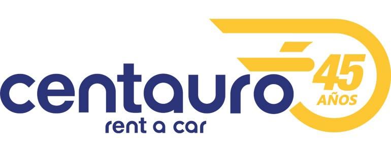 Logo 45 Aniversario Centauro Rent a Car