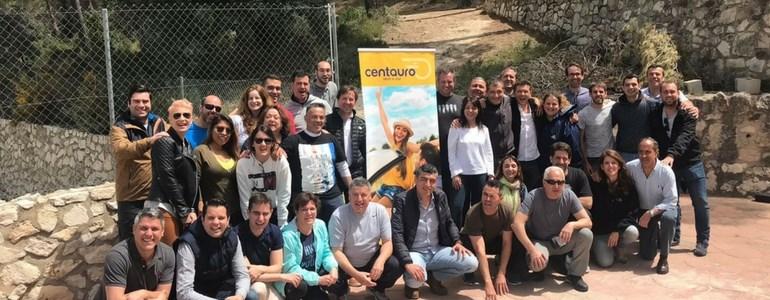 Equipo Centauro Rent a Car en las jornadas de Luis Galindo