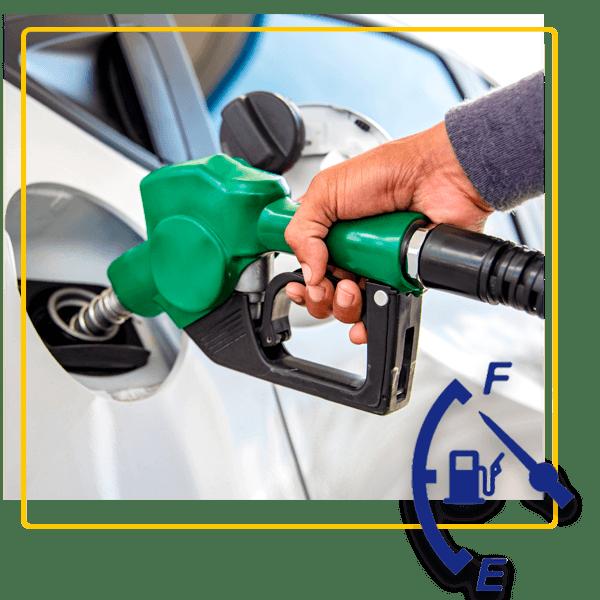 Aluguer de carros com opção de política de combustível Cheio-Cheio ou Cheio-Vazio
