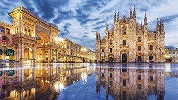 alquiler de coches en Milán - Bérgamo