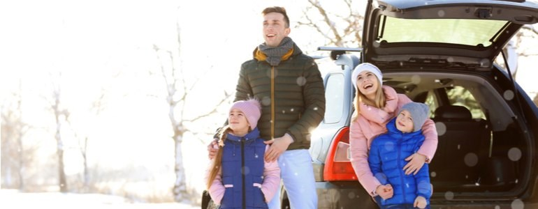 Winter tires or all-season tires Centauro Rent a Car