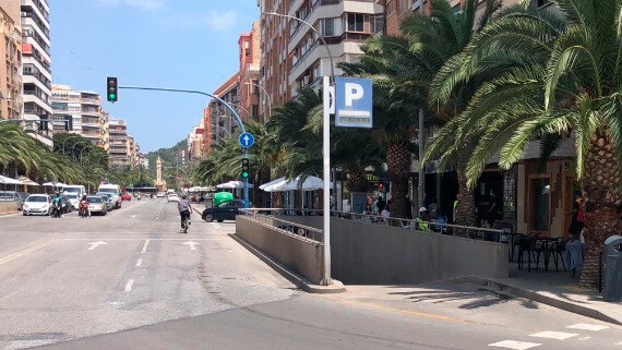 Parking Centauro Alicante train station