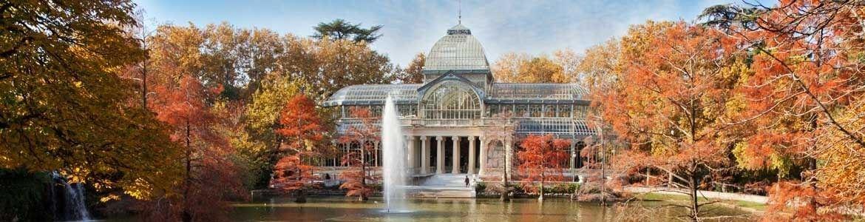 Parque del Retiro, Paseos en coche por Madrid