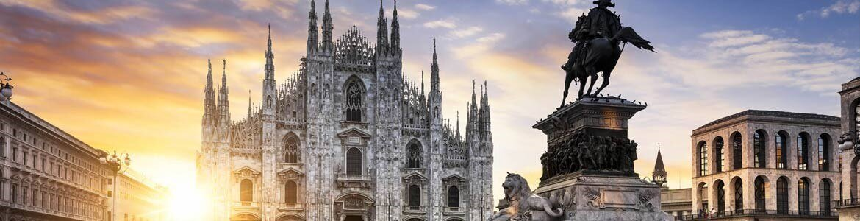 Alquiler coches Milán Italia