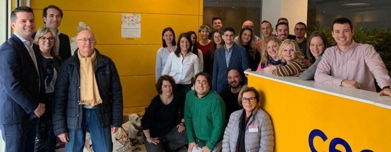Equipo Centauro recogida alimentos 2018