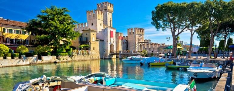 Trajeto de carro Norte de Itália e Lagos