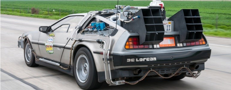 DeLorean de Regresso ao Futuro