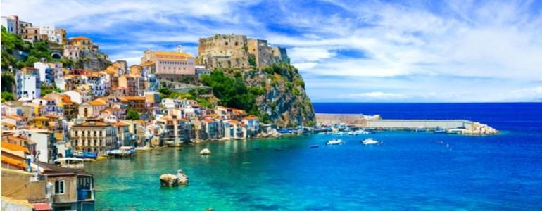 Calabria, itinerario in auto in Italia