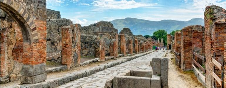 Viaggio in Italia a Pompei