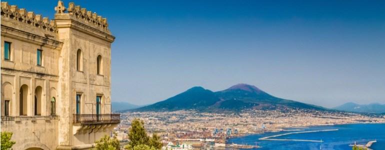 Itinerario da Roma alla Calabria passando per Napoli
