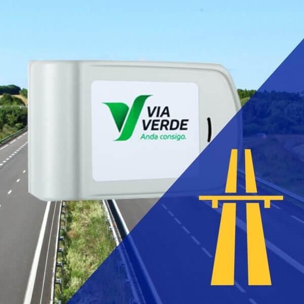 Lloguer de Dispositiu Via Verda per circular a Portugal